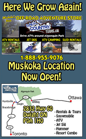 Back Country Tours - muskoka location atv snowmobile