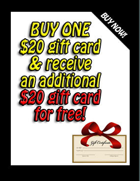 gift certificate card atv snowmobile