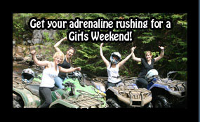 Girls Weekends Back Country Tours ATV Snowmobile specialists in Ontario