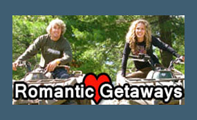 romantic getaways muskoka atv