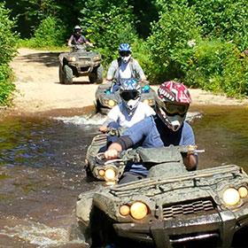 atv jack and jill tours for jack & jill parties