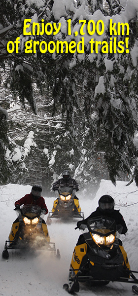 sled rental at deerhurst run by back country tours